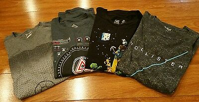 lots of 4 t shirts, men L