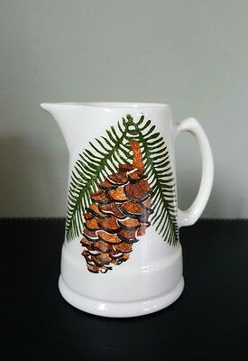 Aston Pottery Hand-painted Floral Jug