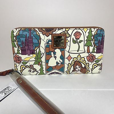 Dooney & Bourke Beauty And The Beast Wallet New Style Disney