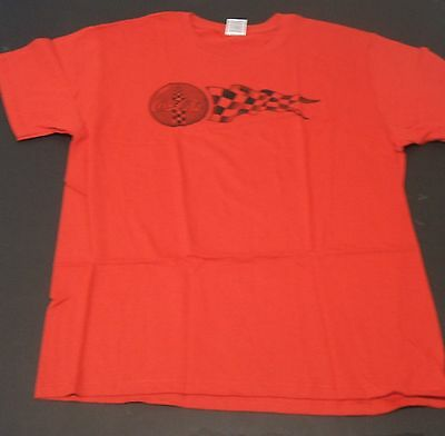 Red Racing Coca-Cola  T-Shirt Large
