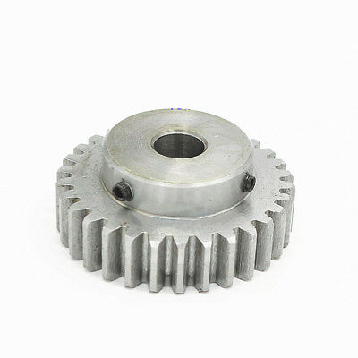 1.5Mod 20Tooth Spur Pinion Gear 45# Steel Motor Gear Bore 6/6.35/8/10MM x 1Pcs