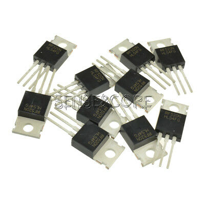 10Stks IRF520N IRF520 Power MOSFET N-Channel TO-220 NEW