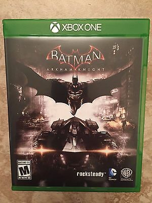 Batman: Arkham Knight (Xbox One) - Replacement Case and Instruction Manual