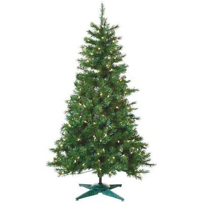 Gerson/yantian 1484-40C 4' Prelit Artificial Colorado Spruce Tree