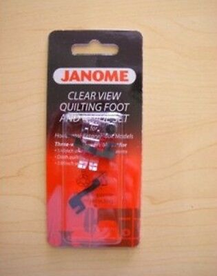 Janome Clear View Quilting Foot & Guide Set