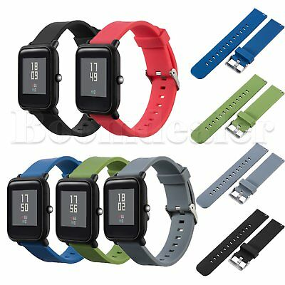 Replacement TPU Watch Wristband Strap for Huami Amazfit Bip BIT PACE Lite Youth