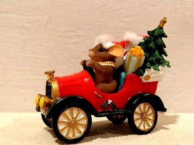 """Fitz & Floyd Charming Tails """"Headin Home For The Holidays"""" Item : 87/152"""