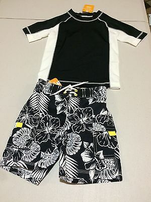 NWT Gymboree boy rash guard and trunk Set Tropical 2T, 4, 5/6, 5T
