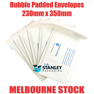 Padded Bag 230x350mm Kraft Bubble Mailer Padded Envelope #4 230mm x 350mm