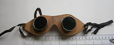 """"""" Steampunk """" WWI WWII ARMY PILOT GOOGLES,MILITARY GLASSES AIR FORCE,AIRPLANE"""