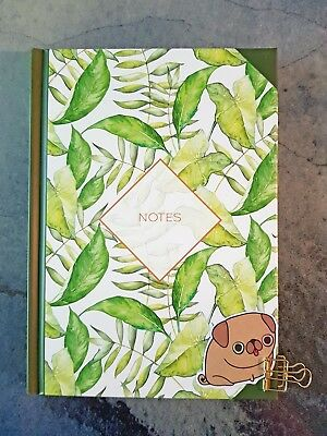 Cute Stationery A5 Journal Notebook Greenhouse