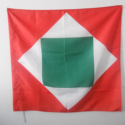 ITALIAN REPUBLIC 1802-1805 FLAG 3' x 3' for a pole - FORMER ITALY FLAGS 90 x 90