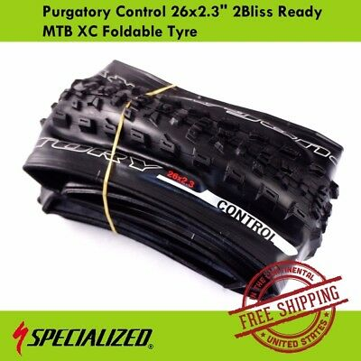 """Specialized Purgatory Control 26x2.3"""" 2Bliss Ready MTB XC Foldable Tyre"""