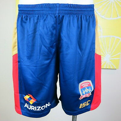 Newcastle Jets Home Shorts Mens Size Large