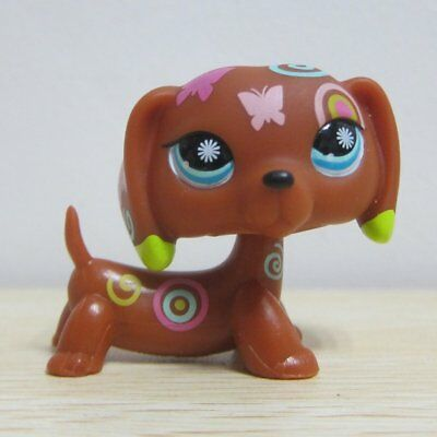 Littlest Pet Shop Collection LPS Figure Loose Toy Tattoo Dachshunds #1010