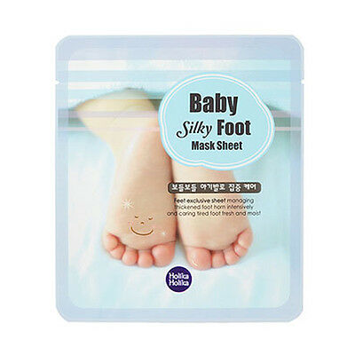 [HOLIKA HOLIKA] Baby Silky Foot Mask Sheet 1/2pcs Lot - BEST Korea Cosmetic