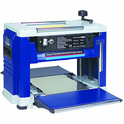 "Fox F22-561 10"" Portable Thicknesser - Ideal For Workshops Or On Site"