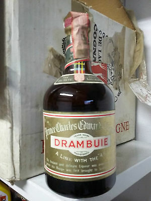 DRAMBUIE - Whisky Liqueur (The Drink that Satisfies)