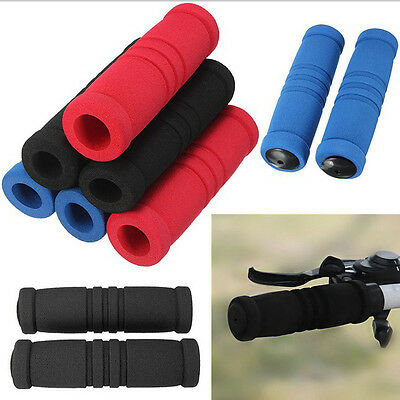 MTB Mountain Bike Bicycle Cycle Handle Bar Handlebar Soft Round Foam Sponge Grip