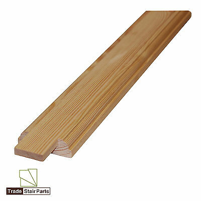 Stair Baserail & Infill Fillet - SOLID WOOD - PINE