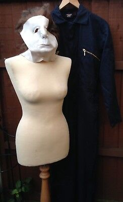 Complete Adults Halloween Michael Myers Costume - 2006 Don Post Mask, Overalls