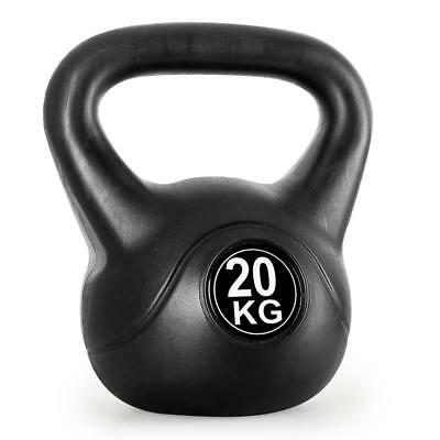 NEW 20kg KETTLEBELL STRENGTH TRAINING WEIGHT LIFTING DUMBELL WORKOUT EXERCISE