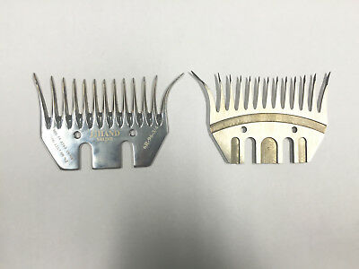 JJ Hand old stock shearing combs (clearance) - 5