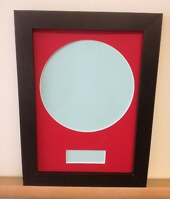 """FRAME YOUR OWN 7"""" RECORD - MOUNT and  PICTURE FRAME PACK"""