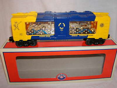 Lionel 6-83633 Alaska Railroad Gold Mint Train Car MIB O 027 2017 New