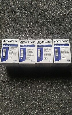 Accu-Chek Aviva Test Strips 200 Strips*brand New And Sealed Long Expiry Date *