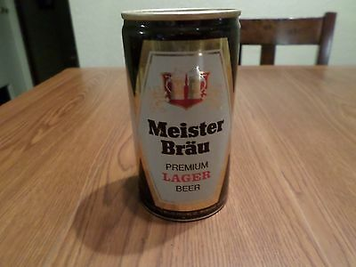 Meister Brau Premium Lager Miller Brewing Milwaukee Only Pull Tab Beer Can