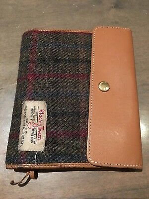 Japanese Hobonichi Planner Cover Harris Tweed Handwoven Scotland LIMITED EDITION