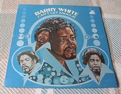 Barry White - Can't Get Enough - Vinyl Album With Laminated Cover - Beauty!