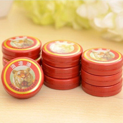 10Pcs Chinese Tiger Oil Cool Oil Aceite Esencial Refresh Dizziness Pain Relief