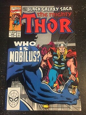 "Mighty Thor#422 Incredible Condition 9.4(1990)""Black Galaxy Saga"" Frenz Art!!"
