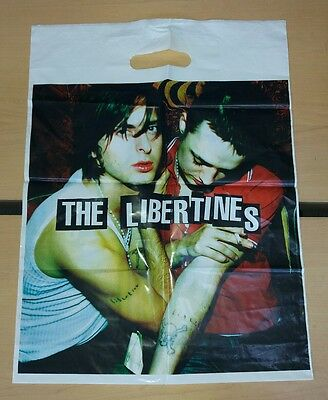 The Libertines plastic carrier bag.