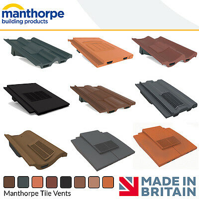 Roof Tile Vents | Roof Ventilation | Manthorpe Tile Vent | Accessories Options