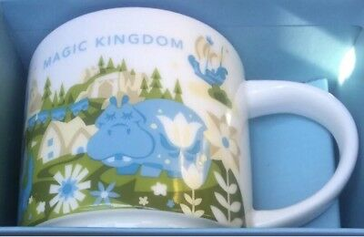 Disney Parks Starbucks You Are Here Magic Kingdom Coffee Mug 2nd Small World New