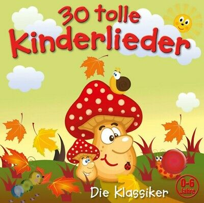 Kiddy Club - 30 Tolle Kinderlieder Vol.2 CD NEU & OVP (Traditionel Laternenfest)