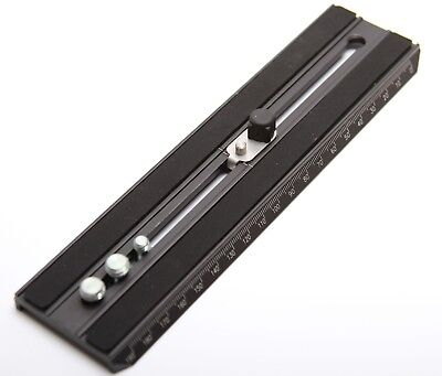 Manfrotto 357LONG Pro Video Quick Release Plate, Long