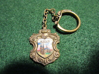 Vintage Key Chain City Of KOLN (COLOGNE) with Insert of the Cathedral