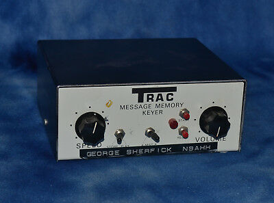 Trac Deluxe Message Memory Keyer