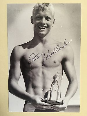 "swimming don schollander signed 6"" x 4"" photograph"