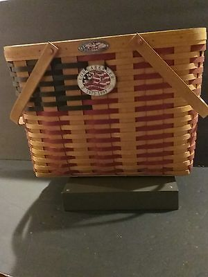 Vintage Longaberger 1998 All American Collectors Club 25th Anniversary Basket