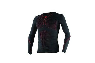 Dainese D-Core Thermo Tee LS Unterwäsche BLACK/RED XS/S