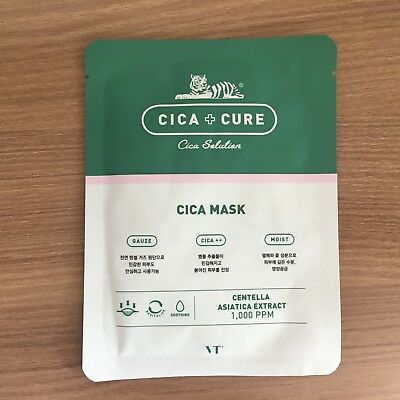 1 Sheet Vt Cica+Cure Mask Pack - Moist & Soothing