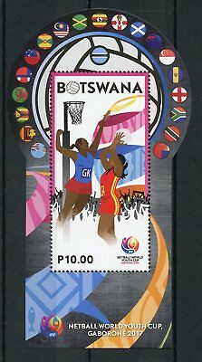 Botswana 2017 MNH Netball World Youth Cup Gaborone 1v M/S Sports Stamps