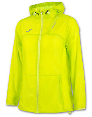 JOMA RAINJACKET TROPICAL LIME Running IMPERMEABILE DONNA