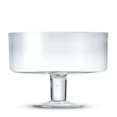 New Salt & Pepper Salut Trifle Bowl 26x21.5cm