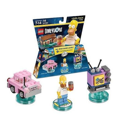 Lego Dimensions Springfield Adventure 16 Sets Brand New